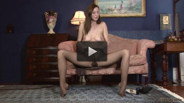 Lara Latex Parading in pantyhose (2015)
