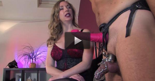 enjoy new lady - (Chastiy Sex Tease)