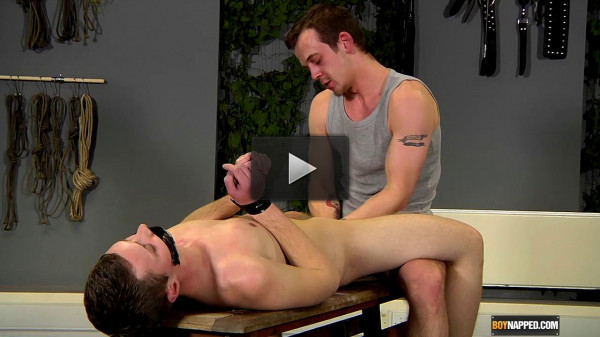 Fit Boy Dan Jenkins Fists & Fucks Aiden Jason