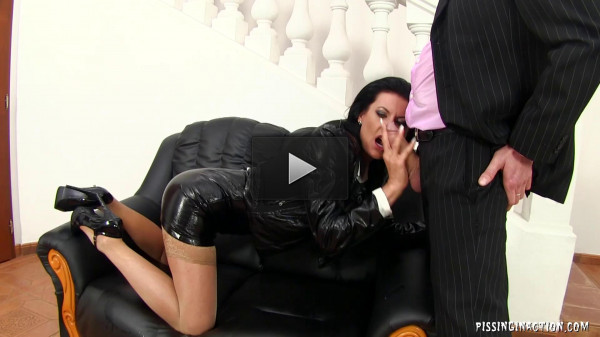 Piss Gets It Going Every Time! (freak, sex, heels, brunette)