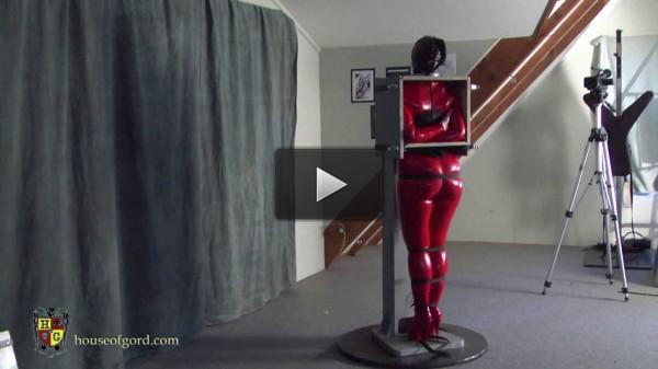 Ultra Latex — Caroline Pierce Bound in the Coco Box