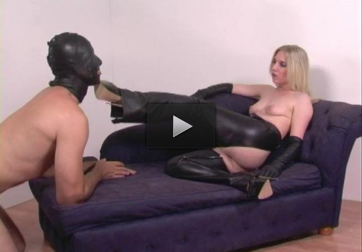 Leather Chaps - emo, face, slave.