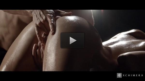 Lauren Crist — Sexy Czech enjoys oily massage and sensual sex with gardener (2017)