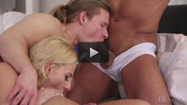 Nathaly Cherie, Angelo Godshack, Mark Black - First time, but not the last!.