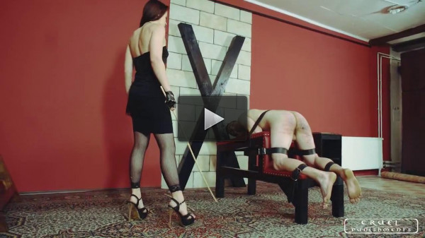 Slave in trouble (femdom, new, vid, tiny, file)