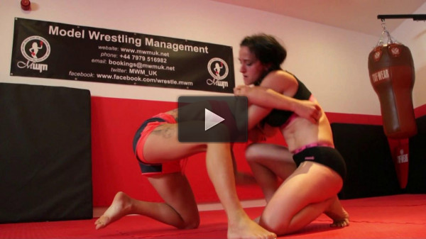 Trouble Vs Athena — Submission Wrestling