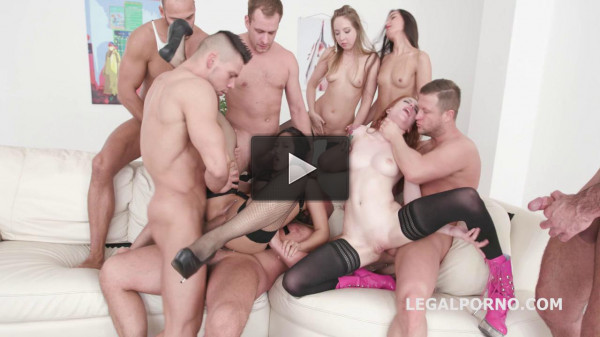Outnumbered Gangbang Party