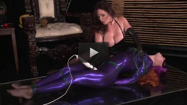Super bondage, domination and torture for two hot girls