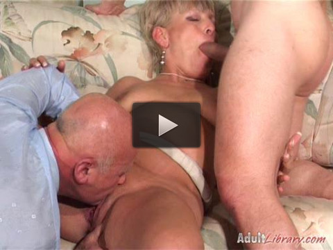 These horny old sluts cant wait to get their pussies pounded by young cock, they will let anything go
