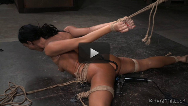HT - London River and Jack Hammer - Fit To Be Tied - March 25, 2015 - HD (pussy, humilation, eat, thick)