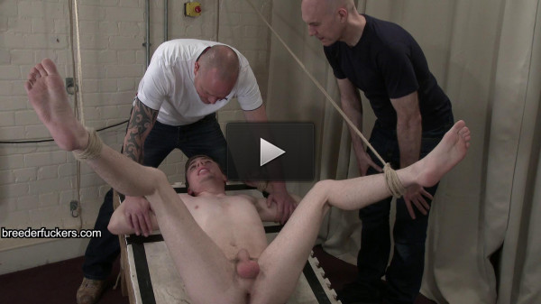 BreederFuckers David 1st video — New Lad David Abused By The Pervy Men