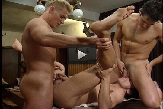 Amazing Gangbang In Army