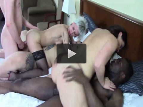 Filthy Hotel Swingers Orgy