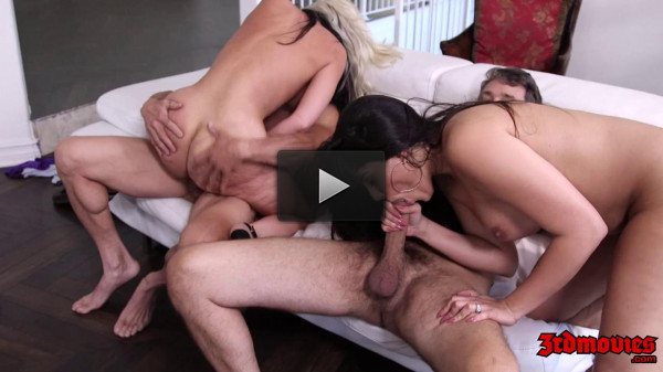 Alena Croft, Mercedes Carrera, Krissy Lynn — Wife Swap Orgy