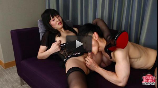 Tokyo Ladyboy Fucks With Hot Man.