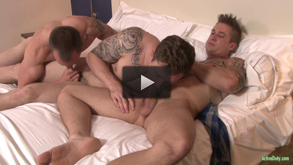 Markie, Michael & James In Hot Anal