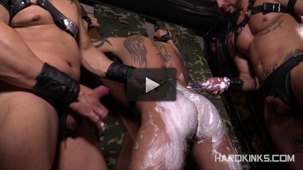 The Shaving Antonio Miracle Julio Rey Mario Domenech — Brutal Gays HD 720p