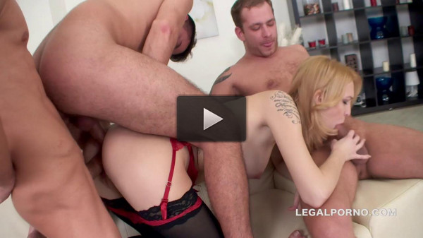 Belle Claire Monsters of Tap Best Triple Anal Ever 5 swallows and great gapes (2016)