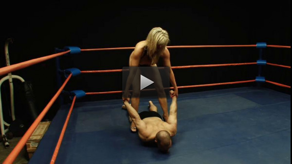 Tylene Buck vs. Leonard (head, male, good, heels, muscular)
