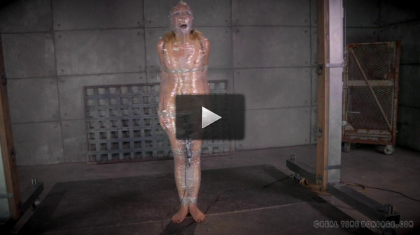 download video little dom (Emma Haize Experiences Bondage In Plastic Wrap And More)!