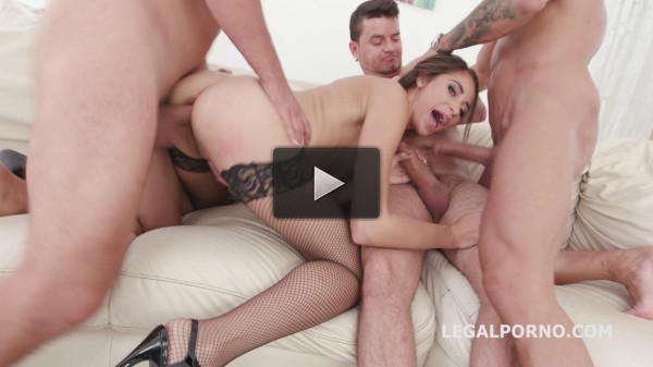 BlackEnded Avi Love four white then four black Deep Anal Dap Gapes (2018)