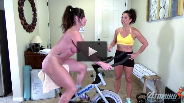 Brandi Mae Nude Workout With Tomiko Part One