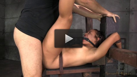 Little Spinner Tinslee Reagan Belted Down Ballgagged - hole, body, good, dick, dont