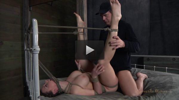 SexuallyBroken - Chanel Preston helpless Brutally deep throated