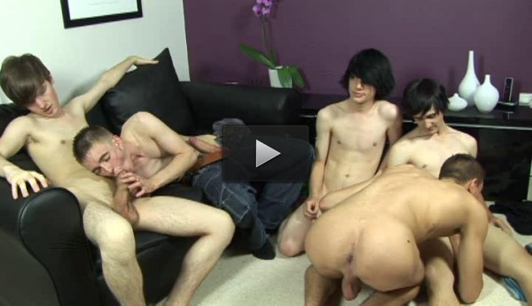 Violation Orgy With Young Whores