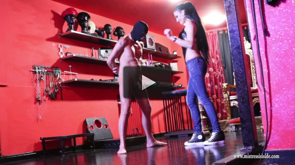 Mistress Iside - Brutal torture - black, vid, watch, balls, new
