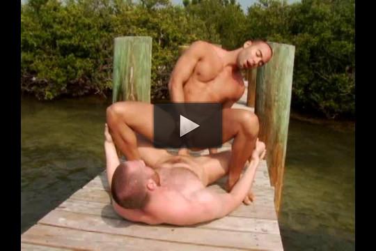 Interracial Man Island — Marco Paris, Mario Perez, Rafael Alencar