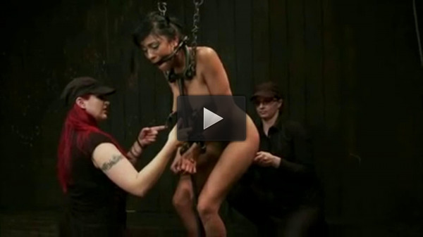 Bondage, torment, spanking and torture for hot bitch (part2)
