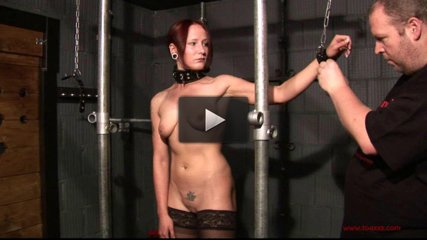 bound fucked (Toaxxx - tx037 - Melanie in the Dungeon).