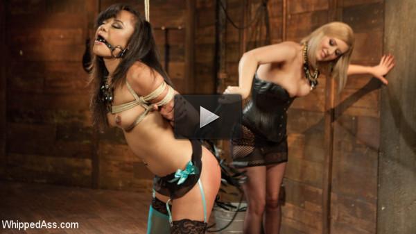 anal whip les - (The Return of Annie Cruz!!!)