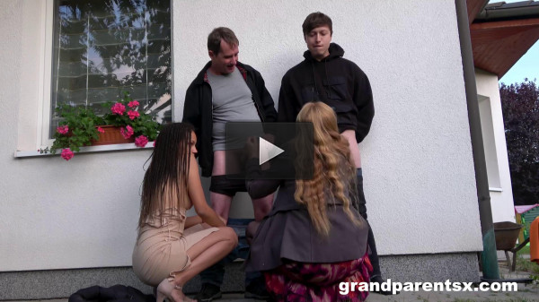 Grandparentsx — Ginger mi and dhalia janeiro — old vs young