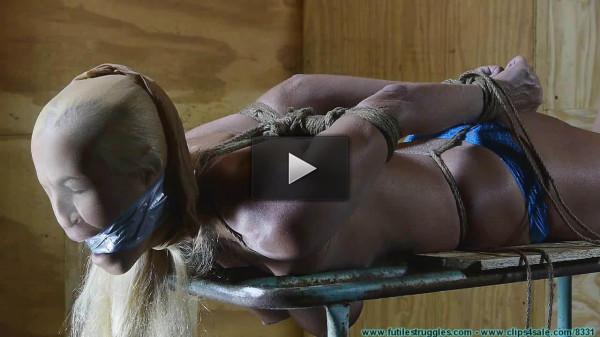 Amanda Buried rope