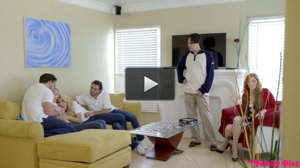 Carmen Caliente, Gia Love aka Jasmine Delatori — Freaky Family 1080p