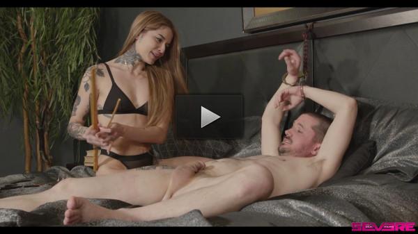 Strangers in a Bar — Scene 2 - Vanessa Vega and Slave Fluffy — Full HD 1080p