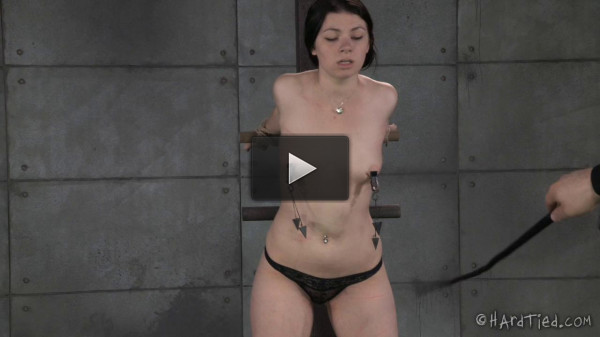 Harley Ace Gets Excited By Intense Rope Bondage