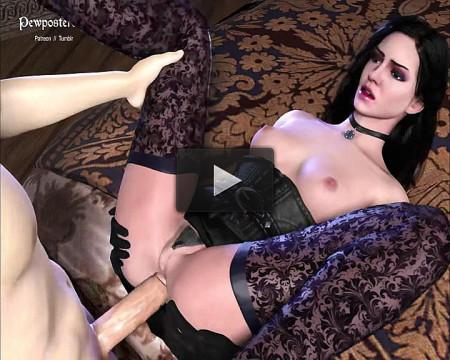 Yennefer - The Witcher - Vol. 3 - Assembly (video, tit, ass, sex, vid)