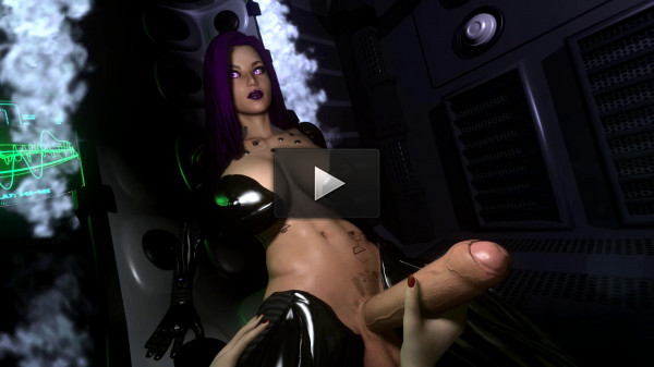 VaM Cyberpunk Futa Taker