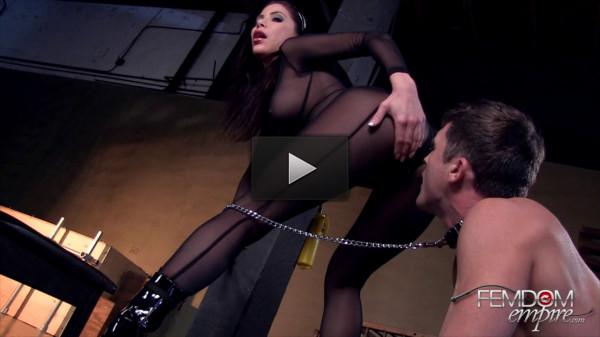 mistress worship femdom - (Aleksa Nicole - Make Mistress Cum)