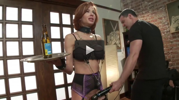 Bondage, spanking, domination and torture for hot slut (part1)