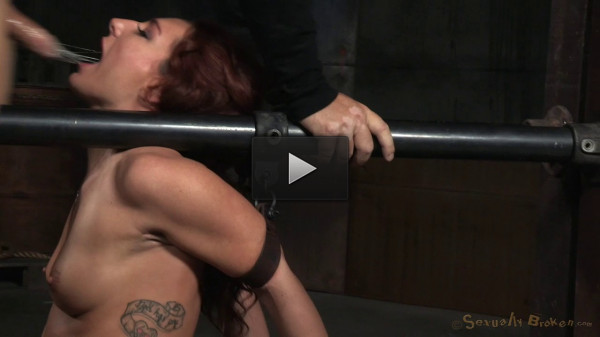 Redhead Savannah Fox Chained To A Sybian (eyes, step, pay, some)