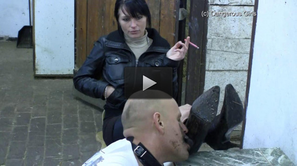 Dangerous-Girls - DG Bootworship Extreme - tit, boots, dom!