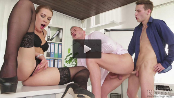 Alexis Crystal, Thomas B and Ryan Cage...
