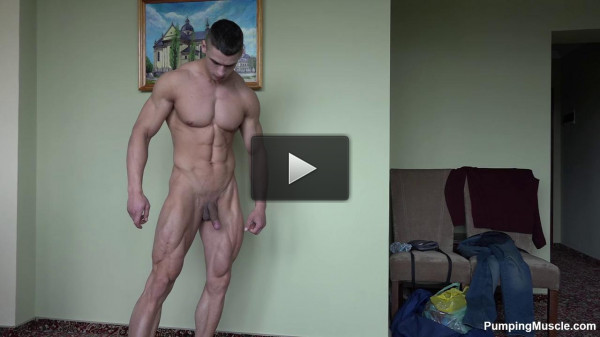 Pumping Muscle — Andrei V — Photo Shoot Vol. 2 - HD 720p