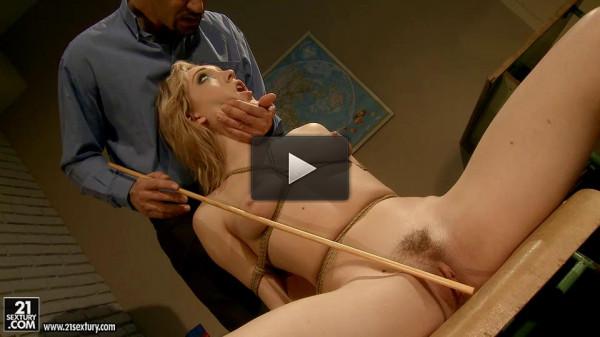 Pay attention bad girl Lily La Beau — Extreme, Bondage, Caning