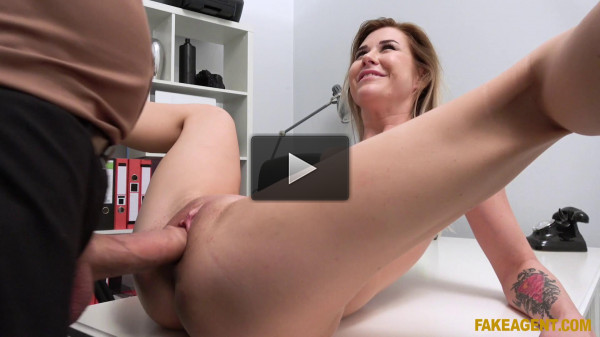 Madison Mcqueen — Office fuck for cock hungry Russian