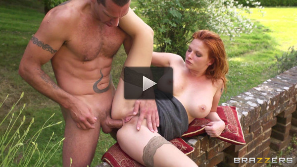 Gorgeous And Mysterious Redhead Babe From Old Europe